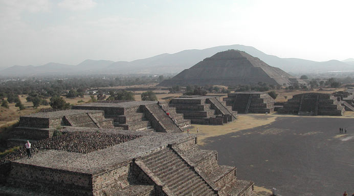 aztec temples step pyramids twin temples