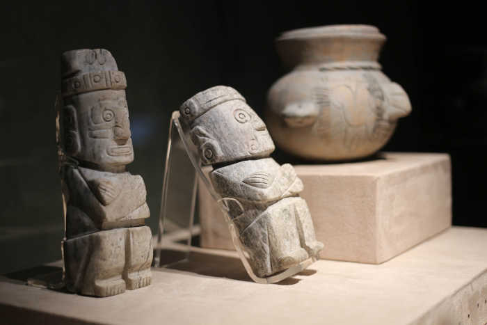 Small Aztec sculptures