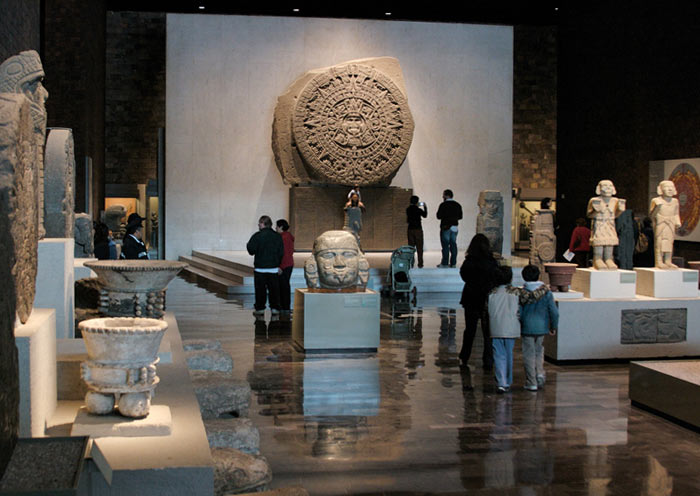 aztec calendar at the National Museum of Anthropology and History