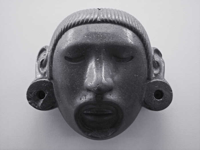 Stone Mask - Head of Aztec God Xipe Totec